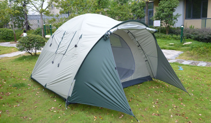 Higher Camping Tent for 4-person